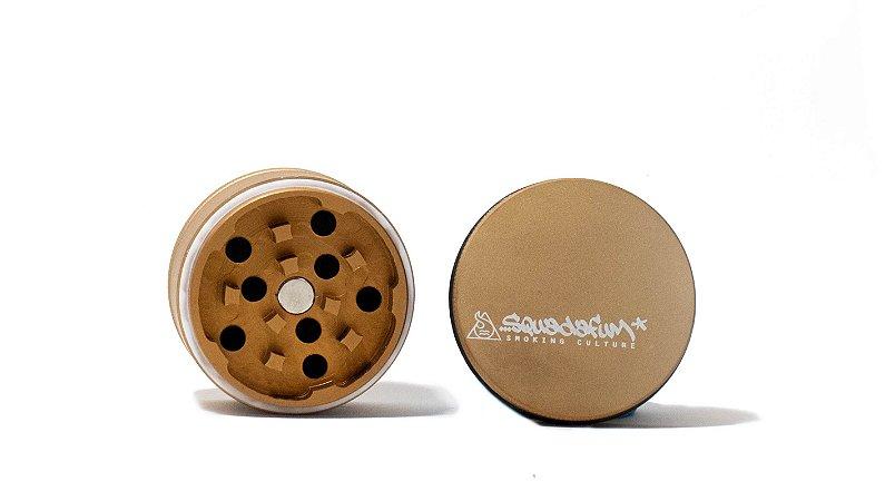 Dichavador - Squadafum - 4 partes (51mm) - High Grinder - Dourado