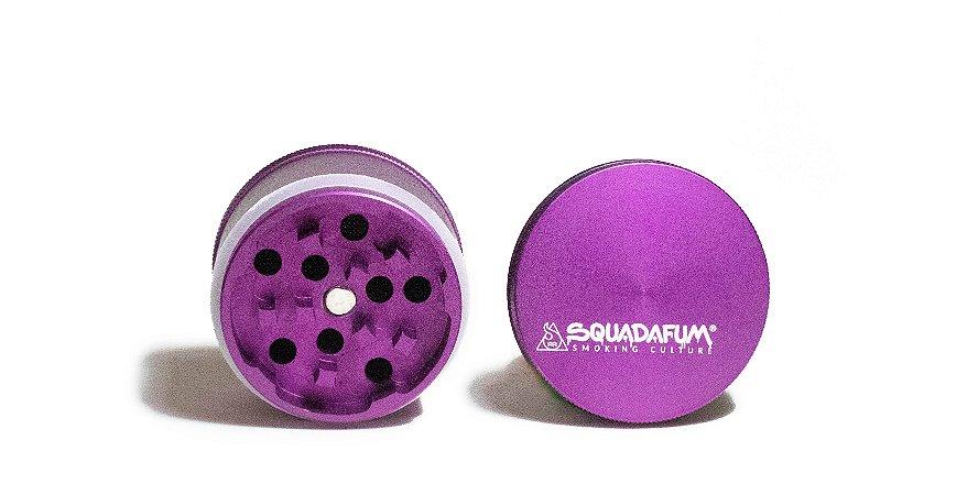 Dichavador - Squadafum - 4 partes (51mm) - High Grinder - Roxo