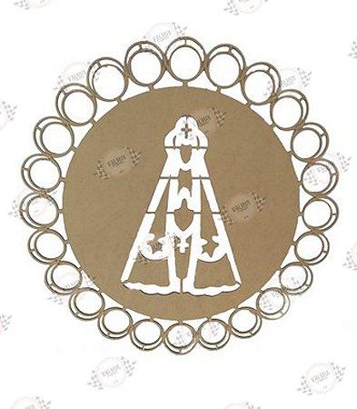 Mandala Nossa Senhora em MDF