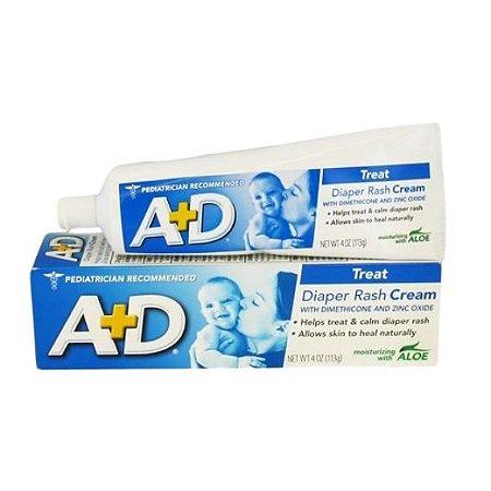 A+D Treat Diaper Rash Cream – Creme para Assaduras113g