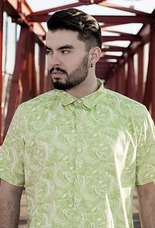 Camisa Selvatica da Clorofila Caramelizada