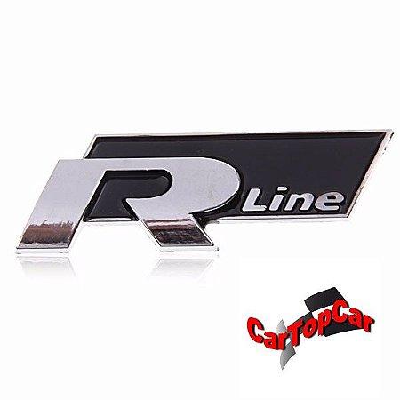 Emblema Rline Linha VW Ja com dupla face