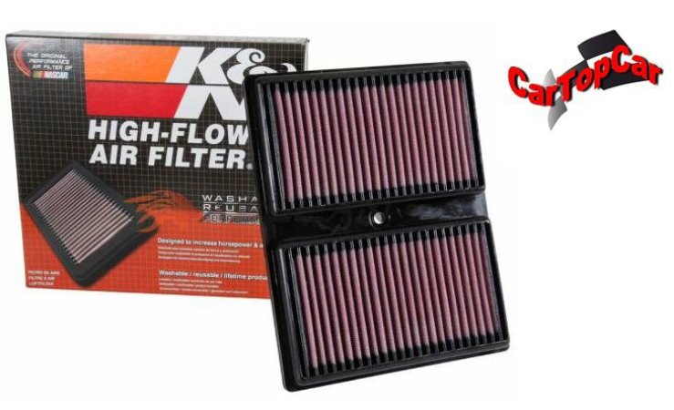 FILTRO K&N INBOX - VW UP TSI | GOLF 1.0 TSI | POLO TSI | VIRTUS 1.0 TSI - (COD. 33-3037)
