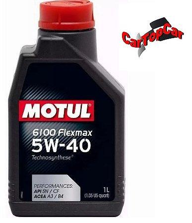 Óleo Motor Motul 6100 Flexmax 5w40 Sintético 1lt