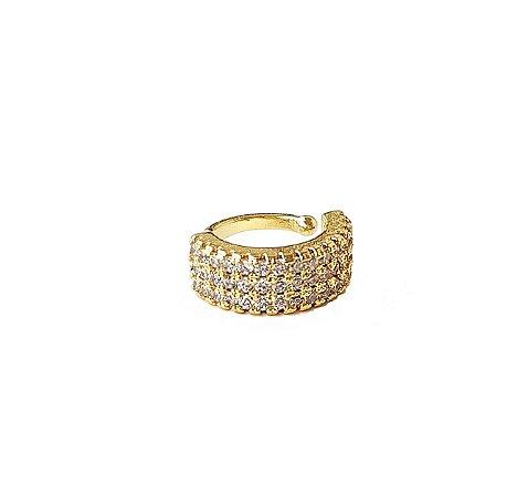 Piercing 3 Fileiras Gold