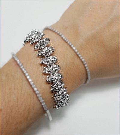 Pulseira Marrocos Silver