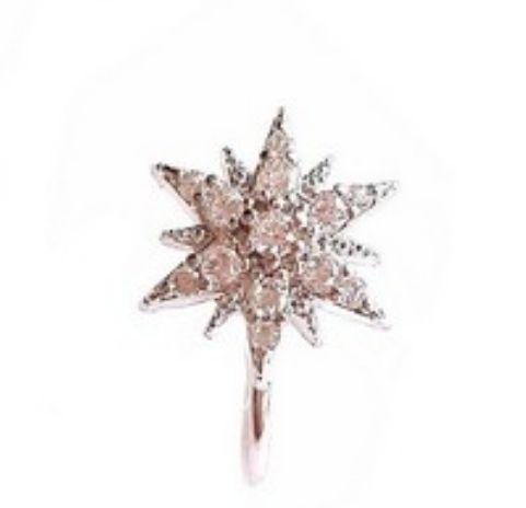 Piercing Constelação Star Mini Silver