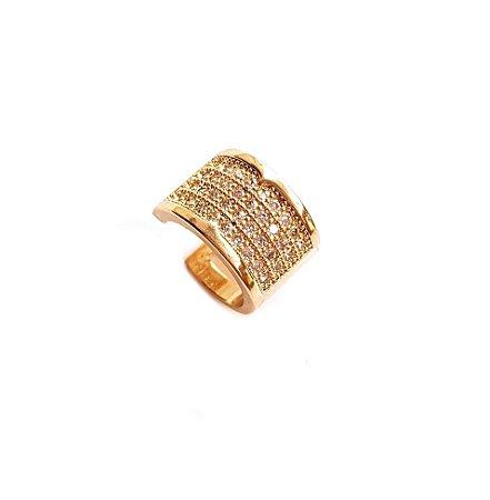 Piercing Chapado Gold 4 fileiras