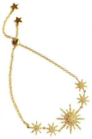 Pulseira Multi Stars Gold