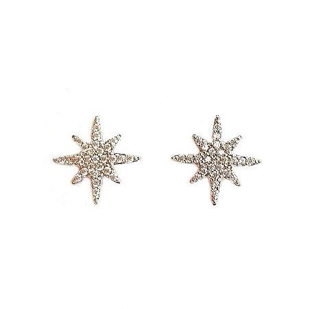 Brinco Mini Star Silver