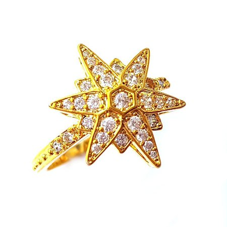 Anel Star Midi Gold
