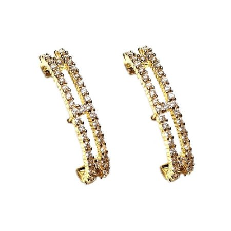 Brinco Earhook 2 Elos Gold