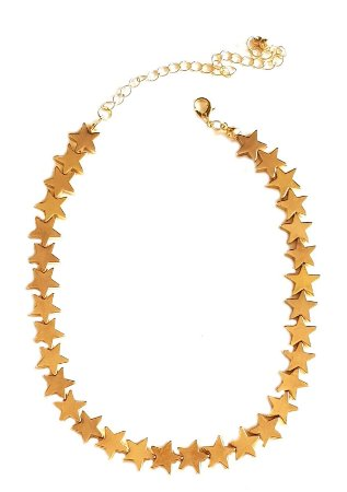 Colar Chocker Star Gold