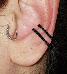 Piercing Earhook Ônix