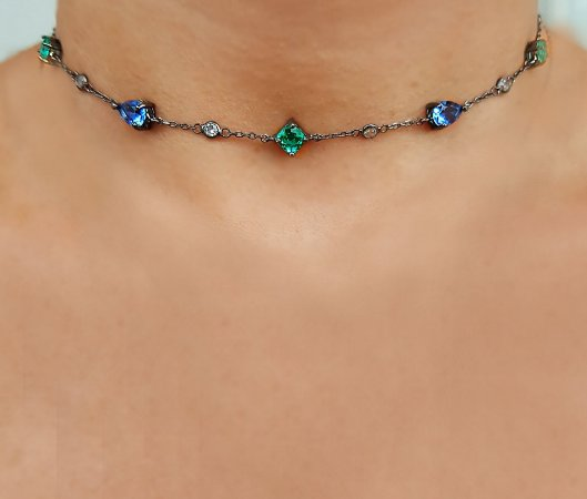 Colar Chocker Conti Form Total Colors