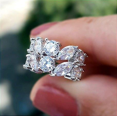 Piercing Diamond Duplo silver