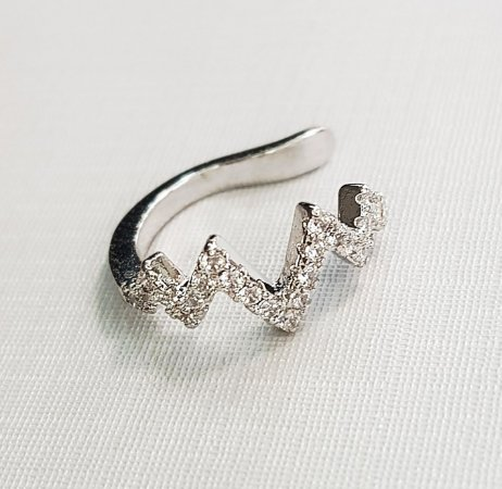 Piercing Raio Silver