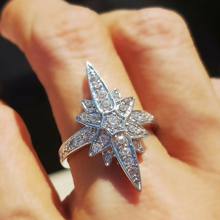 Anel Star Stern Silver