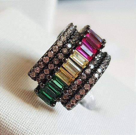 Piercing Canutilhos Colors Cravejados