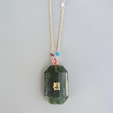 Colar Jade x esmeralda Brasil