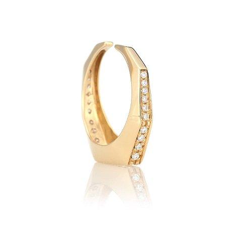 Brinco Piercing Érah Pequeno Gold Mistic