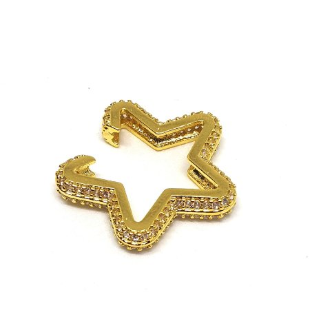 Piercing Star Total Cravejado Gold Mistic