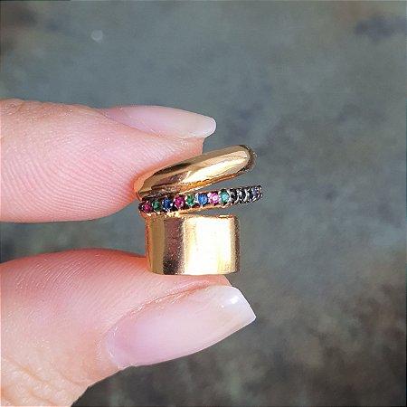 piercing Gold Colors Cravejado Mistic