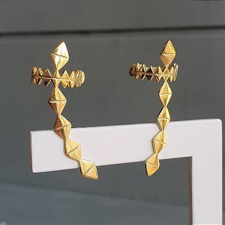 Brinco Earcuff Jac Gold