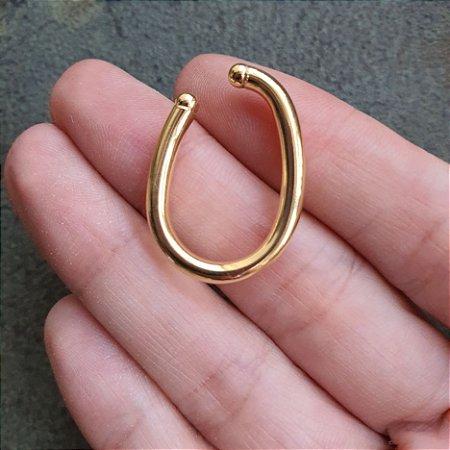 Piercing earhook Gran gold mistic