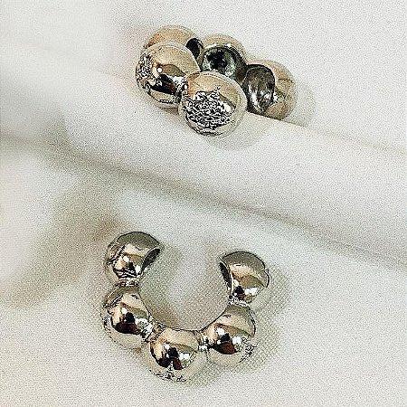 Piercing Balls Star Silver Mistic