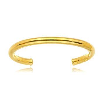 Pulseira Arco Tubo Strong Gold