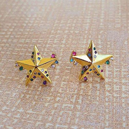 Brinco Estrela Colors