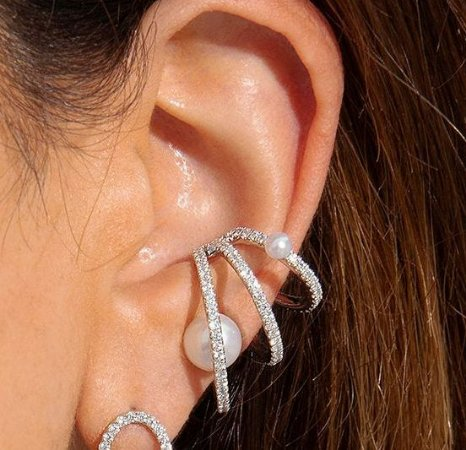 Piercing Elos x Pérolas Silver
