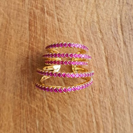Piercing Pink Gold Mistic