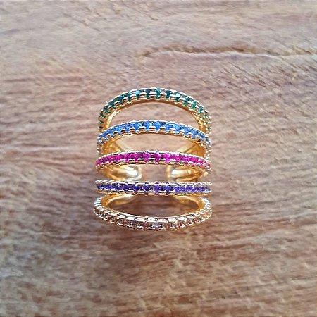 Piercing Rainbow Gold Mistic