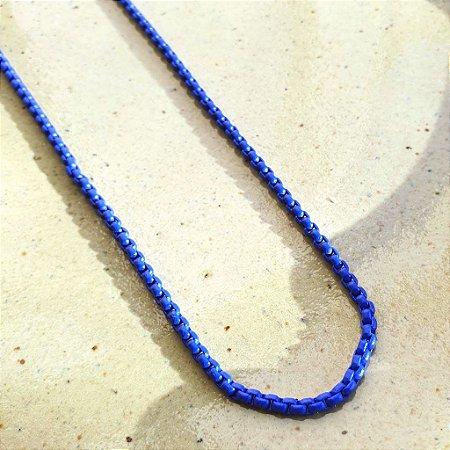 Colar Azul Bic Esmaltado Mistic