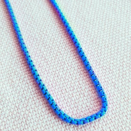 Colar Azul Turquesa Esmaltado Mistic