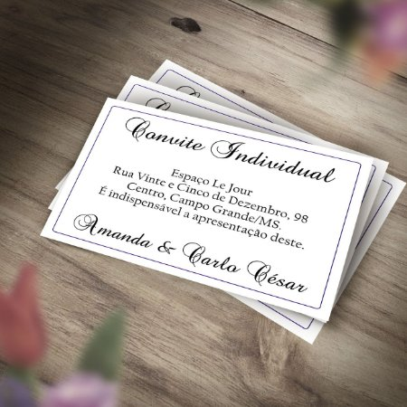 Convite Individual Meu Cheiro Rodada De Descontos