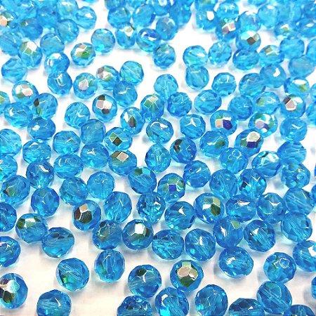 Conta Facetada Aquamarine/AB 6001