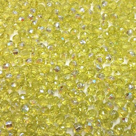 Conta Facetada Amarelo/AB 8013