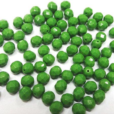 Conta Facetada Verde Fosca 53240