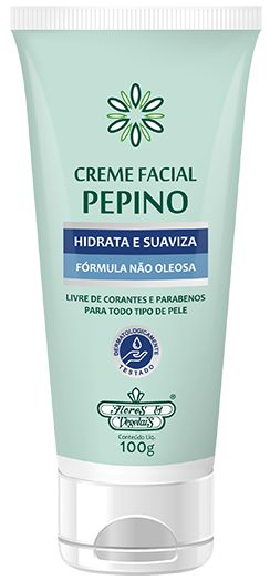 Creme Facial Pepino 100G