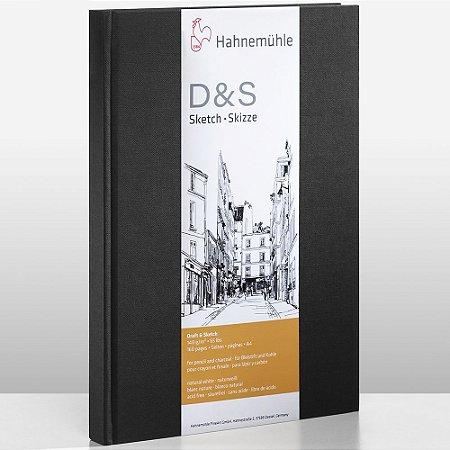 Sketch Book D&S A3 140g/m² Preto Retrato 80 fls Hahnemuhle