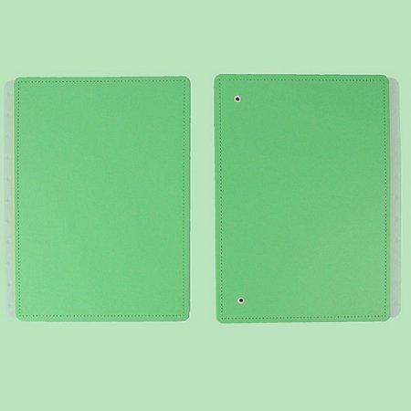 Capa E Contracapa Caderno Inteligente All Green Médio