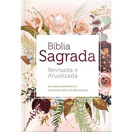 Biblia Sagrada Semi-Luxo Flor De Henna