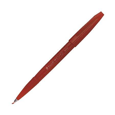 Caneta Pincel Brush Sign Pen Marrom - SES15C-E