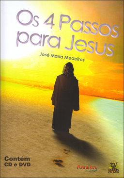 Dvd-Quatro Passos para Jesus (Os) (Cd+Dvd)