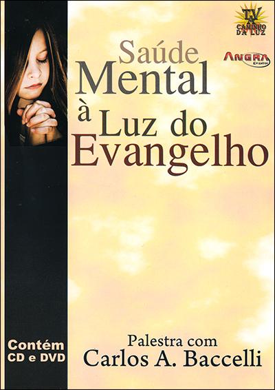 Dvd-Saúde Mental à Luz do Evangelho (Cd+Dvd)