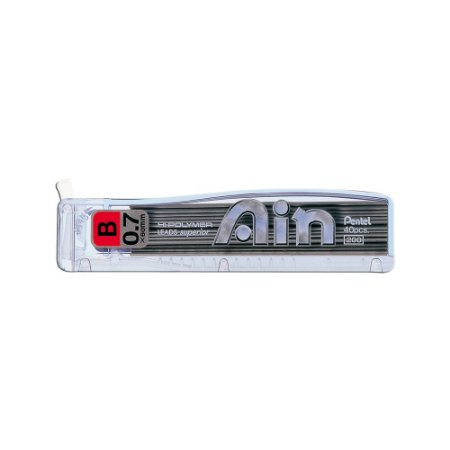 Grafite Pentel Ain 0,7mm B - C257-BPB