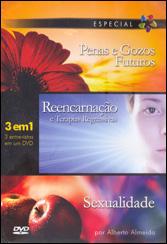 Dvd-Penas e Gozos Futuros Reencarnação e Terapias Regressivas (3 Em 1)